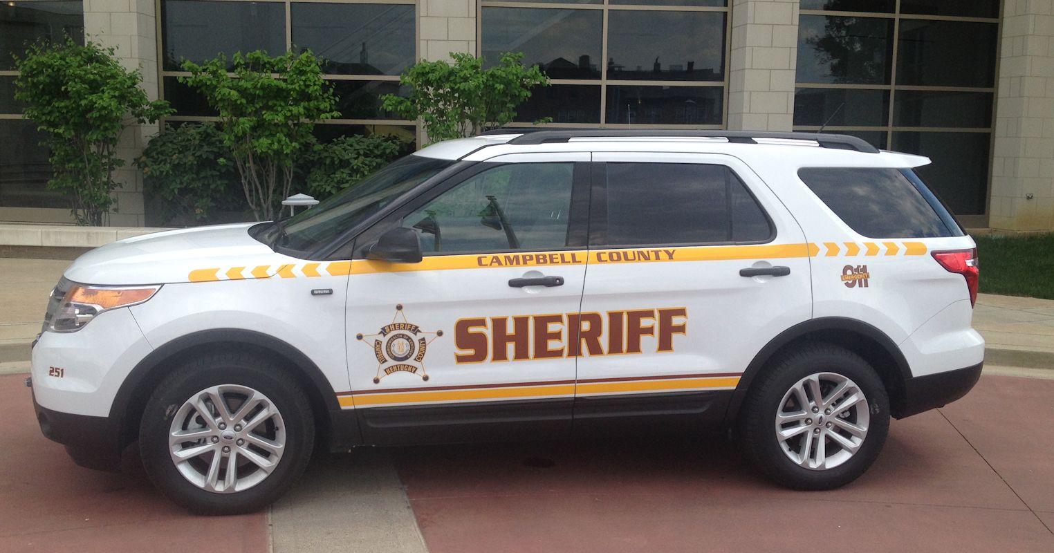 New Sheriff's Cruiser
