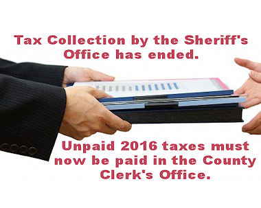 Campbell County Sheriff Tax Hand Over