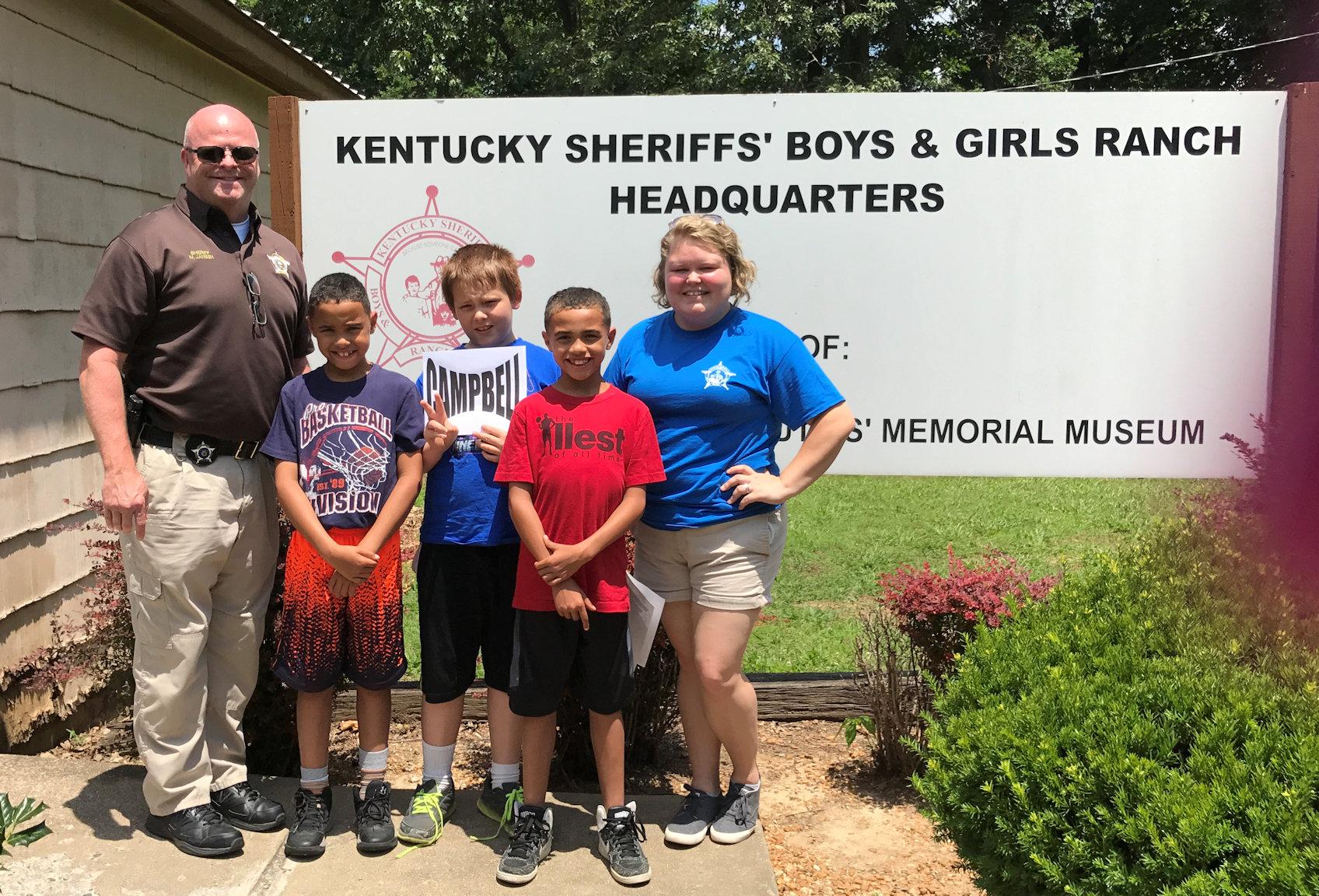 Kentucky Sheriff's Ranch 2017 Trip