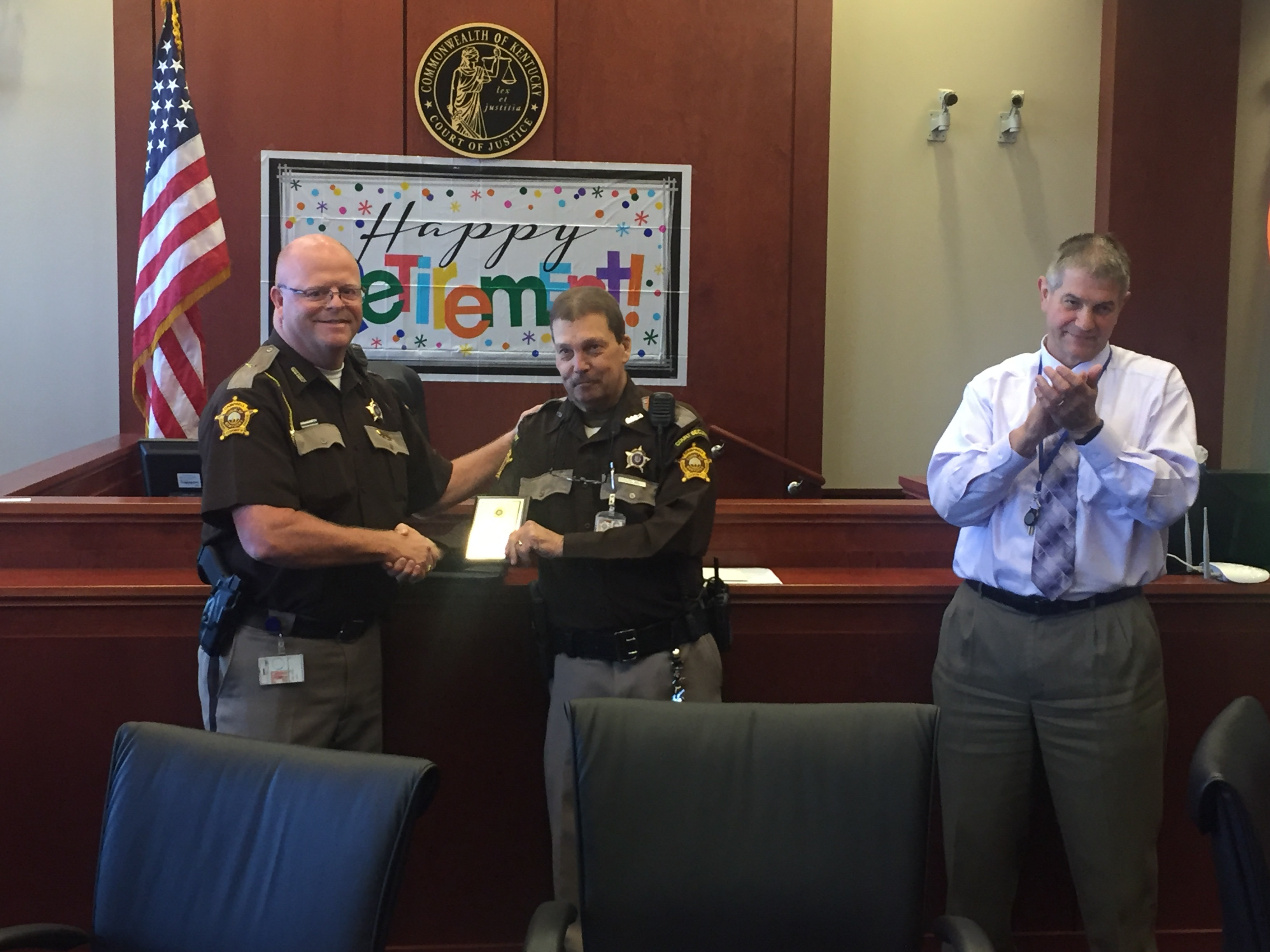 A SALUTE TO RETIRING DEPUTY DAVE CAMM