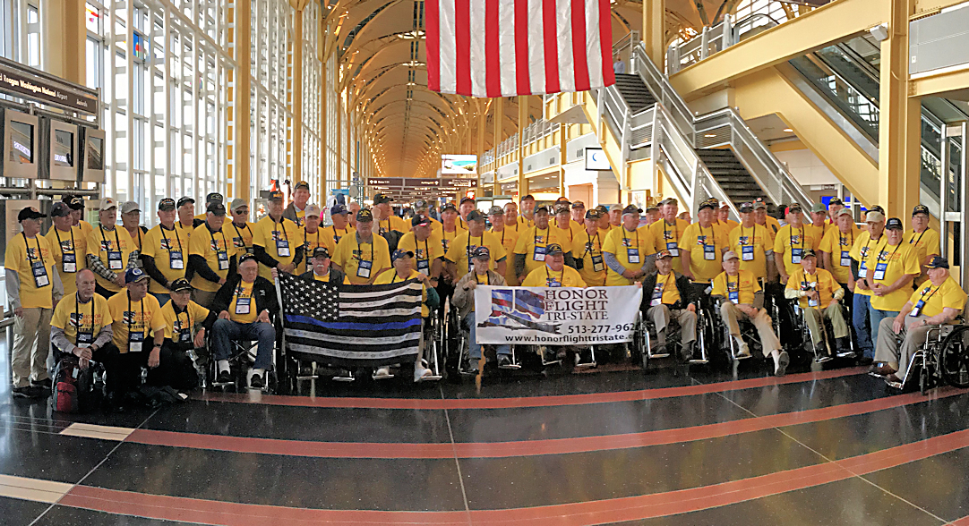 SHERIFF JANSEN ESCORTS LAW ENFORCEMENT HONOR FLIGHT TO WASHINGTON D.C.