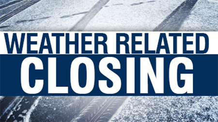 The Sheriff's Office is Closed Saturday, January 13th due to Inclement Weather Concerns