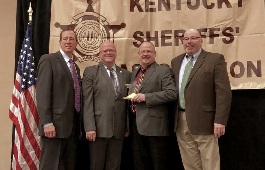 Chief Deputy Named Deputy of the Year by Kentucky Sheriff's Association