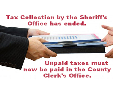 2018 Tax Collection Completed.