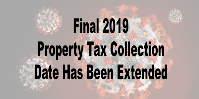 Final 2019 Tax Date Extended