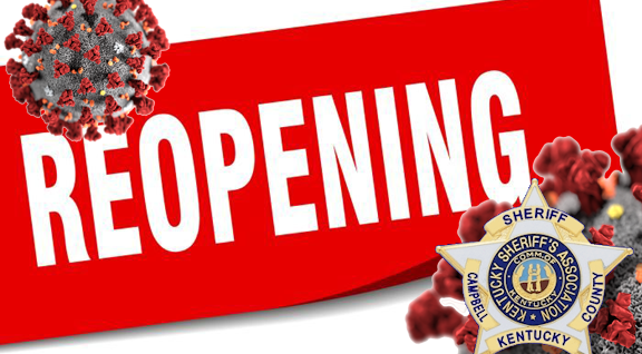 Campbell County Sheriff's Office Reopening
