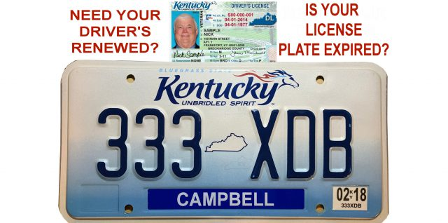 UPDATED:  Need a license renewed?