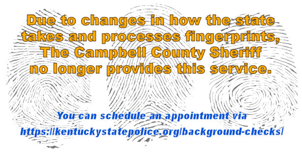 Changes for Public Fingerprinting.